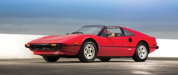 1982 Ferrari 308 GTS wide wallpaper thumbnail.