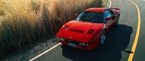 1984 Ferrari 288 GTO wide wallpaper thumbnail.