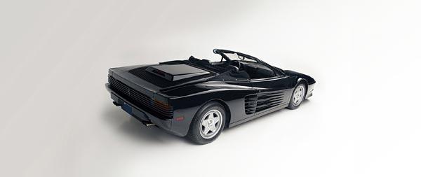 1986 Ferrari Testarossa Spider wide wallpaper thumbnail.