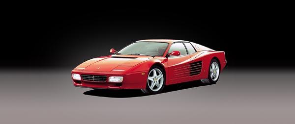 1991 Ferrari 512 TR wide wallpaper thumbnail.