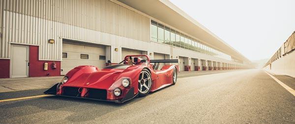 1993 Ferrari 333 SP wide wallpaper thumbnail.