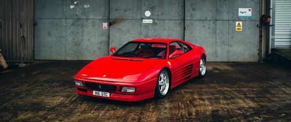 1994 Ferrari 348 GT Competizione wide wallpaper thumbnail.