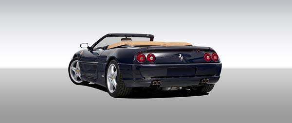 1995 Ferrari F355 Spider wide wallpaper thumbnail.