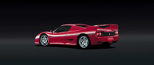 1995 Ferrari F50 wide wallpaper thumbnail.
