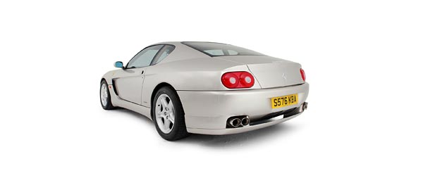 2001 Ferrari 456M GT wide wallpaper thumbnail.