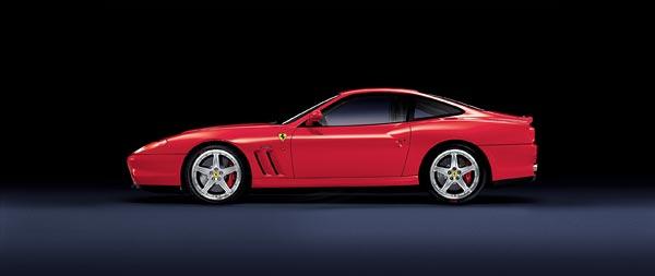 2002 Ferrari 575M Maranello wide wallpaper thumbnail.