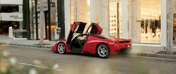 2002 Ferrari Enzo wide wallpaper thumbnail.