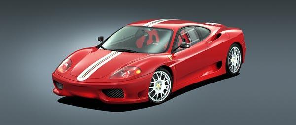 2003 Ferrari 360 Challenge Stradale wide wallpaper thumbnail.