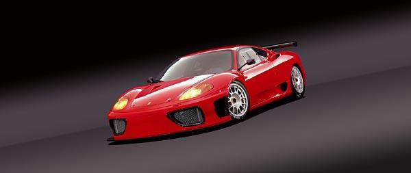 2003 Ferrari 360 GT wide wallpaper thumbnail.