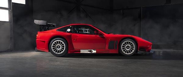 2003 Ferrari 575 GTC Stradale wide wallpaper thumbnail.