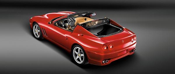 2005 Ferrari 575M Superamerica wide wallpaper thumbnail.