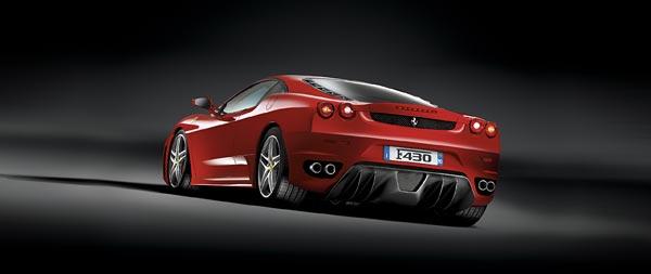 2005 Ferrari F430 wide wallpaper thumbnail.