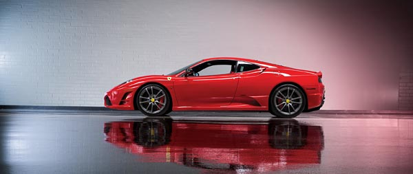 2008 Ferrari 430 Scuderia wide wallpaper thumbnail.