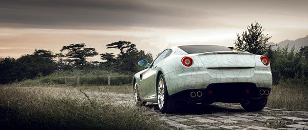 2009 Ferrari 599 Handling GTE Package wide wallpaper thumbnail.