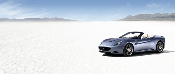 2009 Ferrari California wide wallpaper thumbnail.