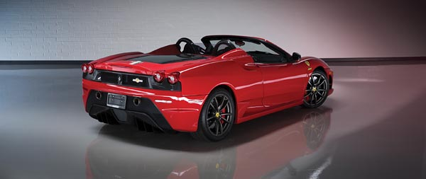 2009 Ferrari 430 Scuderia Spider 16M wide wallpaper thumbnail.