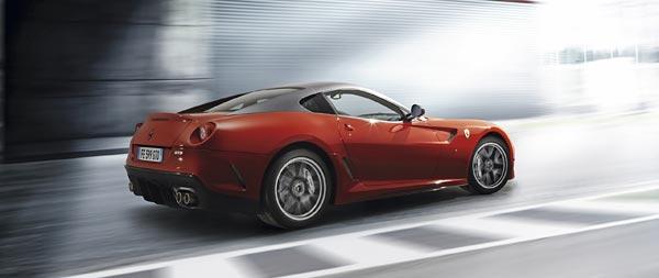 2010 Ferrari 599 GTO wide wallpaper thumbnail.