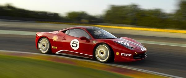 2011 Ferrari 458 Challenge wide wallpaper thumbnail.