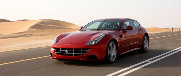 2012 Ferrari FF wide wallpaper thumbnail.