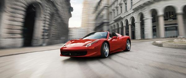 2013 Ferrari 458 Spider wide wallpaper thumbnail.