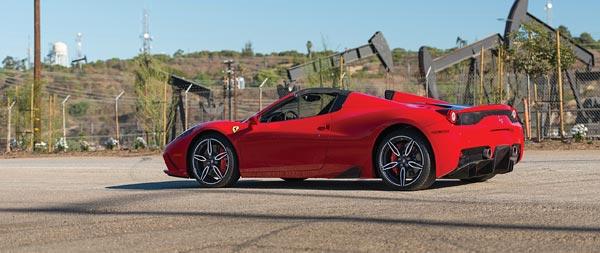 2015 Ferrari 458 Speciale A wide wallpaper thumbnail.