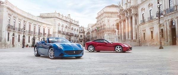 2015 Ferrari California T wide wallpaper thumbnail.