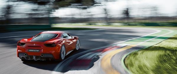 2016 Ferrari 488 GTB wide wallpaper thumbnail.