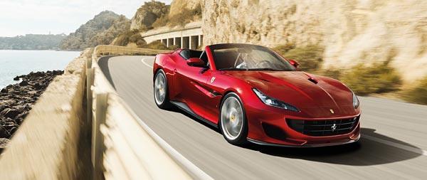 2018 Ferrari Portofino wide wallpaper thumbnail.