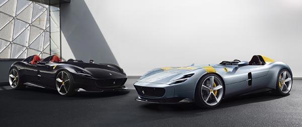 2019 Ferrari Monza SP1 wide wallpaper thumbnail.