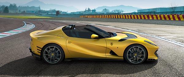 2021 Ferrari 812 Competizione A wide wallpaper thumbnail.