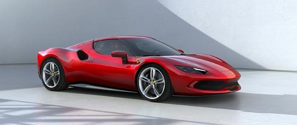 2022 Ferrari 296 GTB wide wallpaper thumbnail.