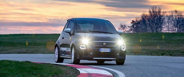 2021 Fiat Abarth 695 Esseesse wide wallpaper thumbnail.