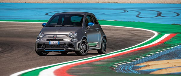 2022 Fiat F595 Abarth wide wallpaper thumbnail.