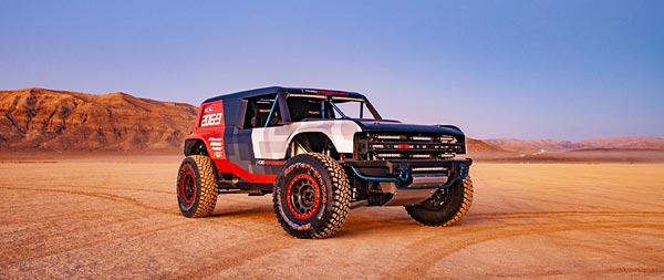 2019 Ford Bronco R Concept wide wallpaper thumbnail.