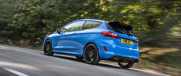 2020 Ford Fiesta ST Edition wide wallpaper thumbnail.