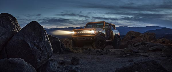 2021 Ford Bronco wide wallpaper thumbnail.