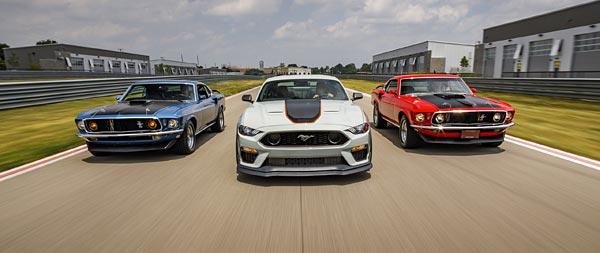2021 Ford Mustang Mach 1 wide wallpaper thumbnail.