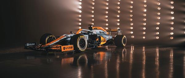 2021 McLaren MCL35M wide wallpaper thumbnail.