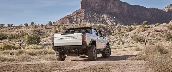 2022 GMC Hummer EV wide wallpaper thumbnail.