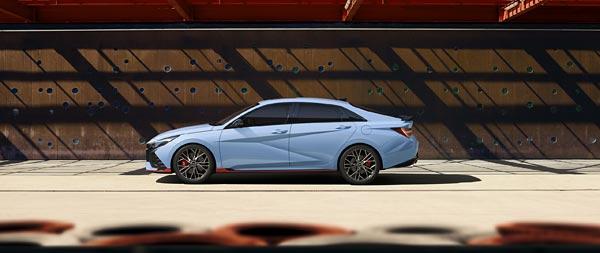 2022 Hyundai Elantra N wide wallpaper thumbnail.