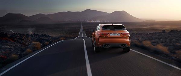 2021 Jaguar F-Pace SVR wide wallpaper thumbnail.