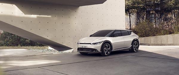 2022 Kia EV6 wide wallpaper thumbnail.