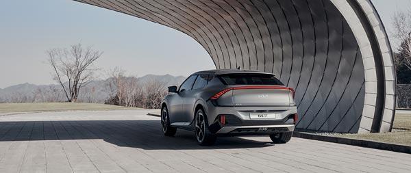 2022 Kia EV6 GT wide wallpaper thumbnail.