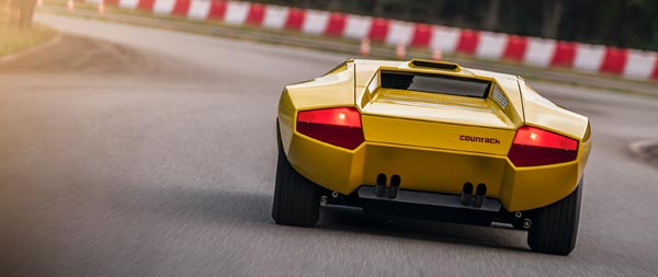 1971 Lamborghini Countach LP500 Concept wide wallpaper thumbnail.