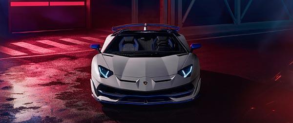 2020 Lamborghini Aventador SVJ Roadster Xago Edition wide wallpaper thumbnail.