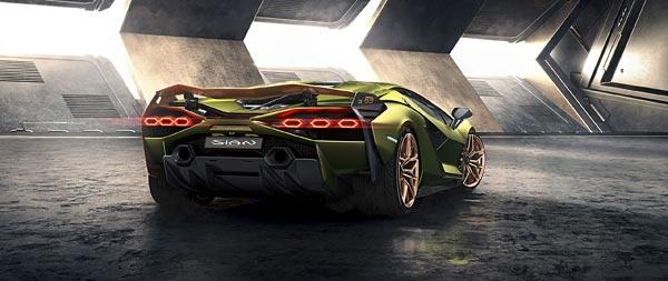 2020 Lamborghini Sian wide wallpaper thumbnail.