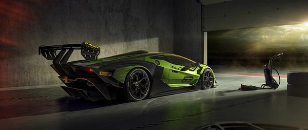 2021 Lamborghini Essenza SCV12 wide wallpaper thumbnail.