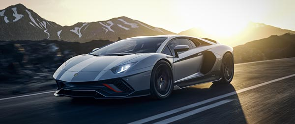 2022 Lamborghini Aventador LP780-4 Ultimae wide wallpaper thumbnail.