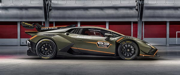 2022 Lamborghini Huracan Super Trofeo EVO2 wide wallpaper thumbnail.
