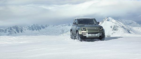2020 Land Rover Defender wide wallpaper thumbnail.